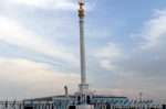 """Kazakh Eli"" monument reflects national coloring of Kazakhstan: writer S.Dosanov"