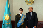 Hero of Nation Azamat Dzhumadilov going to study in Moscow