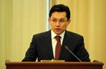 Вступление Казахстана в Таможенный союз  с Россией и Беларусью будет способствовать сокращению импорта из третьих стран - Бахыт Султанов