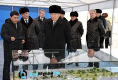 Президент РК принял участие в церемонии сдачи в эксплуатацию первой в Казахстане автомагистрали «Астана - Бурабай»