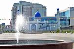 В Атырау на праздничном  намазе говорили о необходимости укрепления межнационального согласия