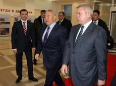 Глава государства Нурсултан Назарбаев посетил новый офис компании «ЛУКОЙЛ Оверсиз»