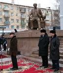 В Караганде открыт памятник выдающемуся режиссеру К. С. Станиславскому