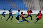 Елордада Бразилияның «Оле Бразил Клаб» футбол академиясына оқуға баратын 8 жасөспірім іріктелді