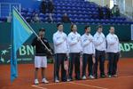 В столице прошла церемония открытия первого раунда Кубка Дэвиса по теннису