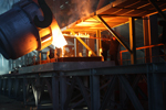 В Караганде на заводе «Силициум Казахстан» произведена первая плавка металлического кремния