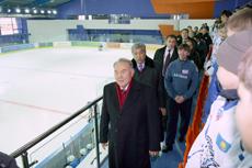 Президент РК посетил реконструируемый Дворец спорта «Казахстан» в Астане