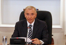 Constitutional Council recognizes amendments on extending President's powers through referendum out of line with Constitution, Igor Rogov