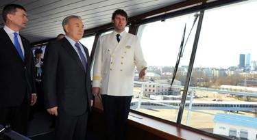 В рамках государственного визита Глава государства Нурсултан Назарбаев встретился с видными представителями деловых кругов Эстонии