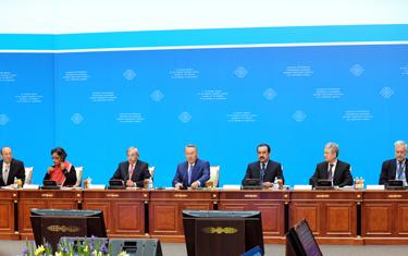 Глава государства Нурсултан Назарбаев провел заседание Совета иностранных инвесторов на тему «Модернизация и обновление предприятий Казахстана»
