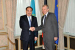 Kazakh Foreign Minister held talks with Belgian PM in Brussels