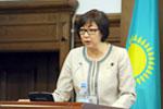 Kazakh Healthcare Minister gives start to National Health Week