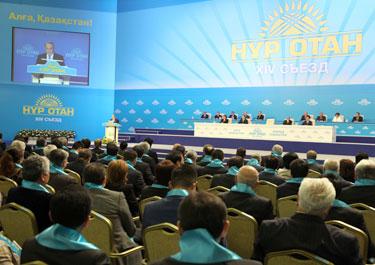 Әрқашан әділетті партия болып қалу - біздің басты борышымыз  - Н. Назарбаев