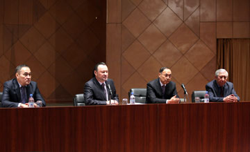 Главная цель Назарбаев-центра - мир и спокойствие в Казахстане - директор центра К.Саудабаев