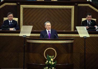 Socio-Economic Modernization as Main Vector of Development of Kazakhstan, State-of-the-Nation Address