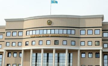 Kazakh ambassador Khamzayev presents credentials to NATO Sec Gen