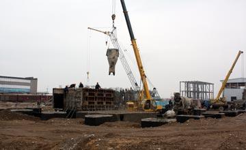 В Таразе ТОО «Казфосфат» готовит к запуску производство пищевых фосфатов и строит сернокислотный цех