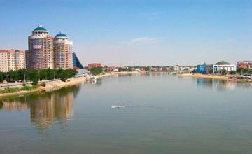 В Атырау форум патриотов «Мой Казахстан» завершился лазерным шоу и концертом звезд эстрады