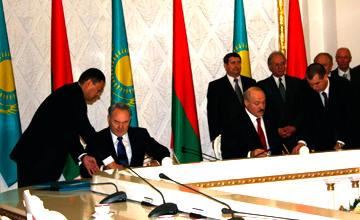 В ходе официального визита Главы государства в Беларусь подписан ряд стратегических документов