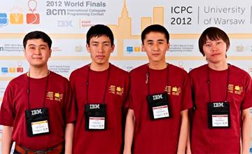 Команда КБТУ обошла многие известные университеты мира, заняв 16-е  место на ЧМ по программированию