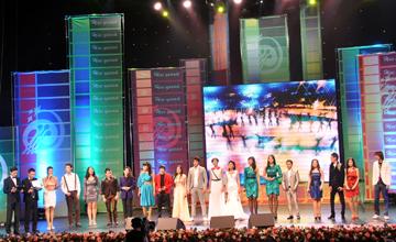«Золото» XXI конкурса молодых исполнителей «Жас канат-2012» досталось Димашу Кудайбергену из Актобе
