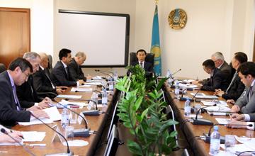 МСХ РК и депутатский корпус КНПК обсудили программу развития АПК на 2011-2015 годы