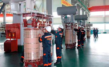 南哈州变压器生产厂完成升级改造