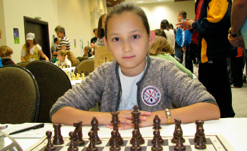 Жансая Абдумалик стала одной из самых молодых гроссмейстеров в мире