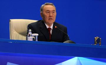 Запуск энергоблока №8 Экибастузской ГРЭС-1 - один из крупнейших индустриальных проектов этого года - Н.Назарбаев