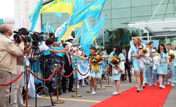 СРОЧНО: Астана встречает олимпийских чемпионов Лондона