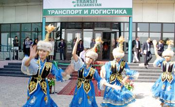 На выставке «Транспорт и Логистика» в Алматы представлены экспонаты компаний 13 стран мира