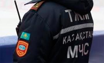 Спасатели Атырау и Астрахани приняли участие в совместных учениях