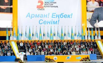 Все основные положения стратегии «Жас Отана» до 2020 года надо учесть в Концепции государственной молодежной политики - Президент РК