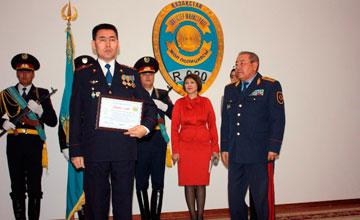 Дорожная полиция Мангыстауской области отпраздновала 20-летие