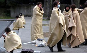 В Японии объявлена угроза цунами из-за произошедшего вблизи АЭС «Фукусима» землетрясения магнитудой 7,3