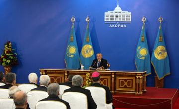 President believes foreign policy success would be unreal without harmony in Kazakh society