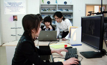 В Шымкенте открылась девятая Назарбаев школа