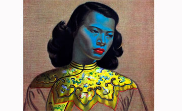 Картина «Китаянка» уроженца Петропавловска В.Третчикова продана за миллион фунтов стерлингов
