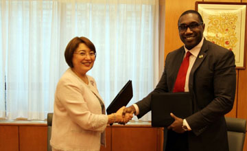 Diplomatic relations between Kazakhstan and the Republic of Suriname established