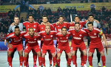 Kairat Almaty beat MFK Dinamo to take 2013 UEFA Futsal Cup