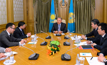 President of Kazakhstan received  ConocoPhillips Chair