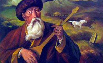 По мотивам творчества великого Курмангазы  - выставка  в Атырау