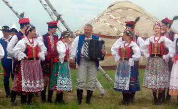 Жамбылцы прокладывают Шелковый путь в Польшу