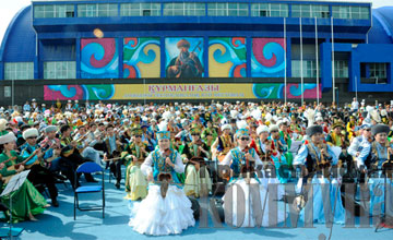Участники атырауского фестиваля кюев занесены в Казахстанскую книгу рекордов