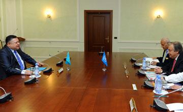 Мемлекеттік хатшы БҰҰ-ның босқындар ісі жөніндегі Жоғарғы комиссарымен кездесті