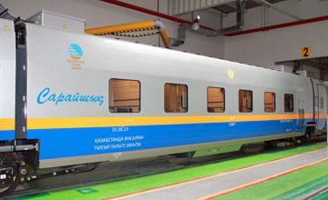 «Алматы-Атырау» бағытында жаңа жүрдек пойыз жолға шығады