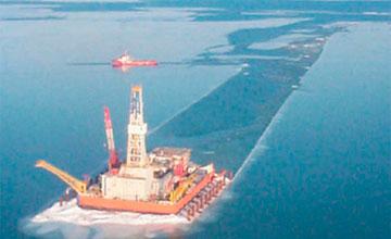 В Атырау разлив нефти 3 уровня ликвидировала компания «Oil Spill Response Limited»