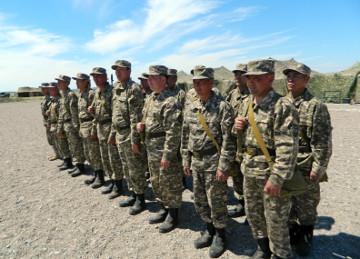 В Шымкенте на службу в армию планируют призвать 300 новобранцев