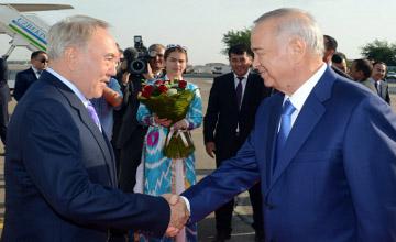 Президент РК прибыл с официальным визитом в Узбекистан