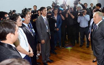 Глава государства прибыл в Кызылординскую область с рабочим визитом